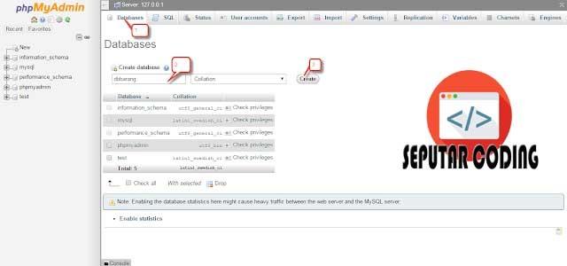 Cara Import Dan Export Database Di XAMPP