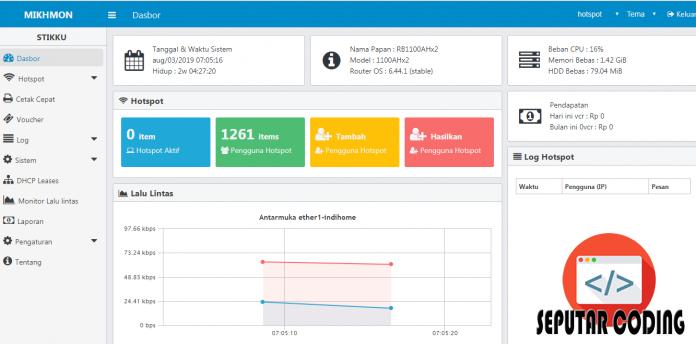 Aplikasi Manajemen Hotspot Mikrotik Dan Membuat Voucher Hotspot