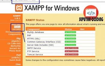 Cara Import Database Di XAMPP Local Server