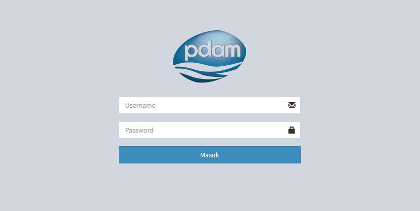 Aplikasi Pembayaran PDAM Menggunakan Framework CodeIgniter