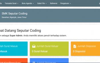 Aplikasi Manajemen Surat Sekolah Dengan PHP Dan MySQLi