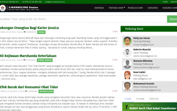 Aplikasi E-Konseling Dengan Framework Codeigniter + Bootstrap
