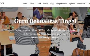 Source Code Web Profil Sekolah Gratis