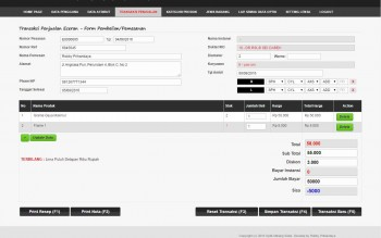 Aplikasi Manajemen Penjualan Optik Kaca Mata