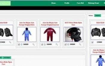 Aplikasi Penjualan Aksesoris Motor Berbasis Web Gratis