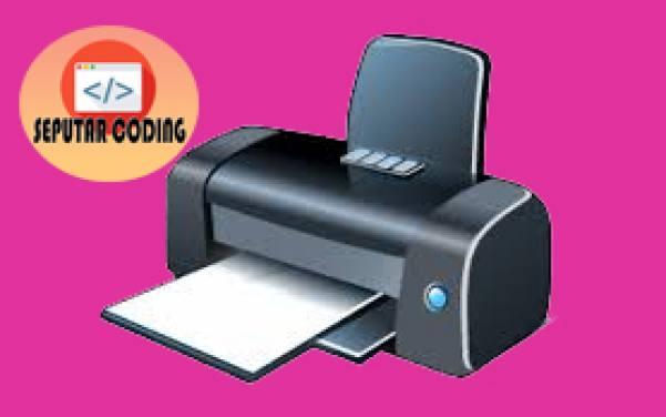 Arti Kode Error Pada Printer Canon MP 287
