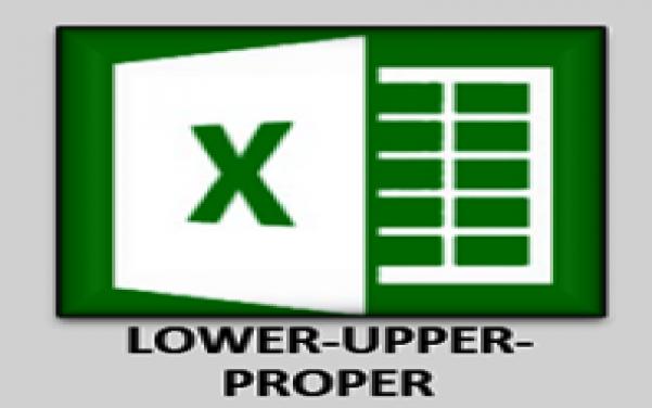 Cara Mengubah Huruf Besar, Huruf Kecil, Dan Huruf Awalan Secara Otomatis Di Excel